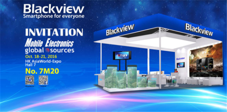 Blackview will show some completely new products in HK trade fair