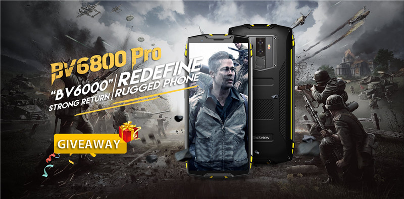 Rugged Phone Giveaway, Blackview BV6000's successor is coming