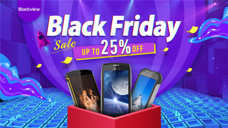 Blackview Best Black Friday Promo Deals on Amazon