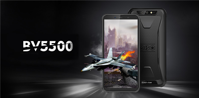 The Most Fashionable Rugged outdoor smartphone Blackview BV5500 exposure