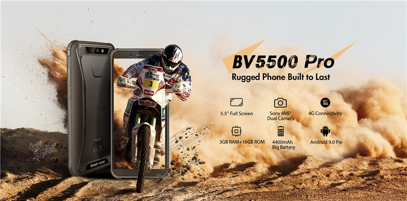 New Fresh Rugged Blackview BV5500 Pro Unveiled