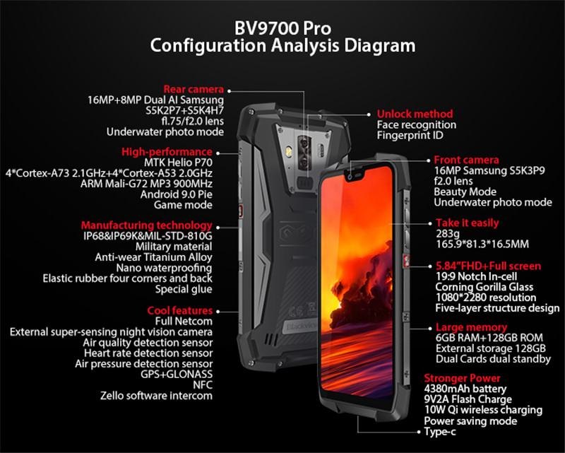 Be the first to get BV9700 Pro on Indiegogo and get $200 OFF