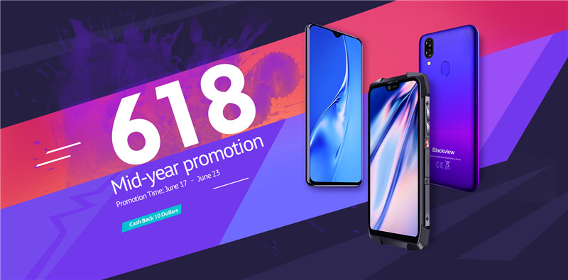 Blackview 6.18 Brand Sales in Full Swing on AliExpress up to 30% off