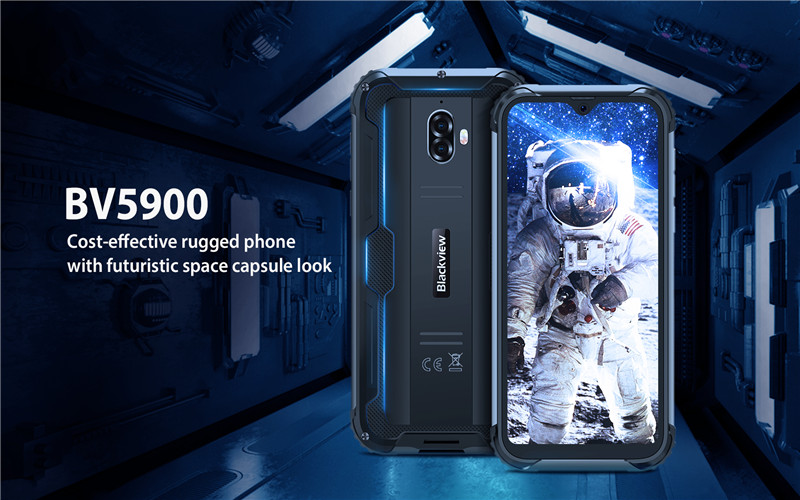 Unbelievable! The toughest rugged outdoor smartphone -- Blackview BV5900 finally video