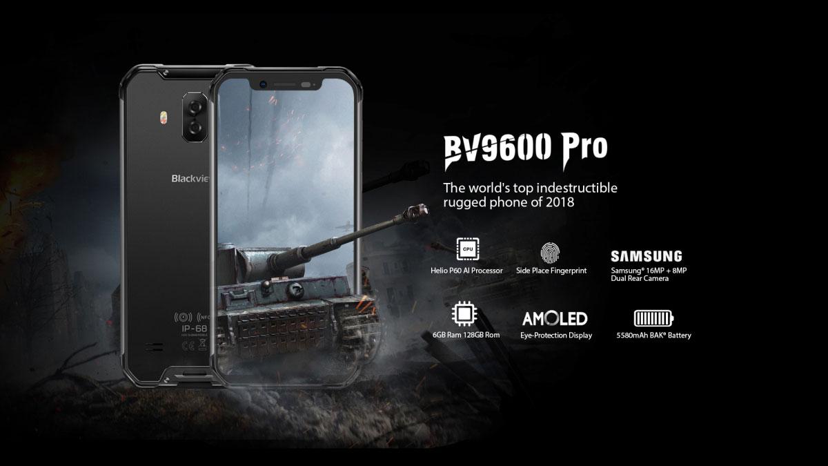 Blackview BV 9600 pro rugged outdoor waterproof smartphone